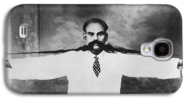 World Record Moustache Galaxy S4 Case by Underwood Archives