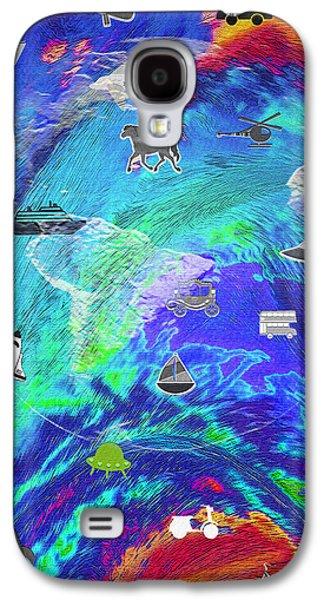World Transport - Digital Composite Galaxy S4 Case