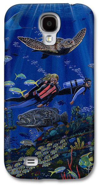 Wreck Divers Re0014 Galaxy S4 Case by Carey Chen