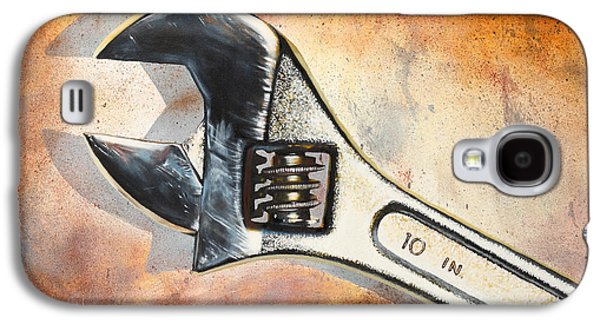 Wrenched Galaxy S4 Case by Karl Melton
