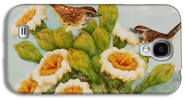 Wrens On Top Of Tucson Galaxy S4 Case by Summer Celeste