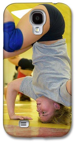 Marquette Galaxy S4 Case - Wrestler Training by Jim West