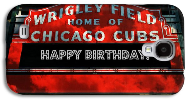 Wrigley Field Galaxy S4 Case - Wrigley Field -- Happy Birthday by Stephen Stookey