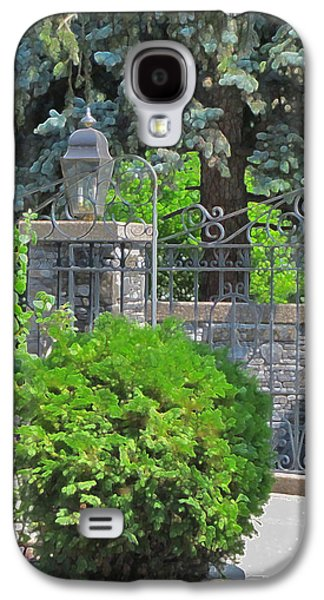 Wrought Iron Gate Galaxy S4 Case