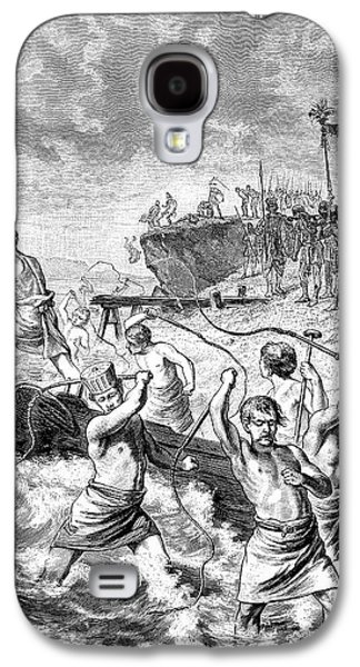 Xerxes Whipping The Sea Galaxy S4 Case by Bildagentur-online/tschanz