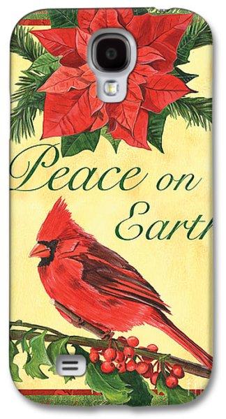 Cardinal Galaxy S4 Case - Xmas Around The World 1 by Debbie DeWitt