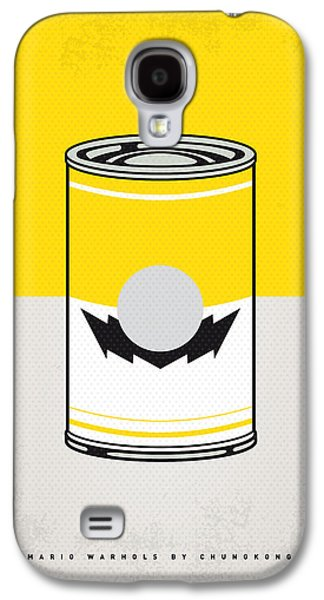 Vegetables Galaxy S4 Case - Y Mario Warhols Minimal Can Poster-wario by Chungkong Art