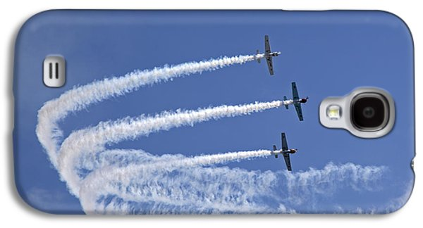 Yaks Aerobatics Team Galaxy S4 Case by Jane Rix