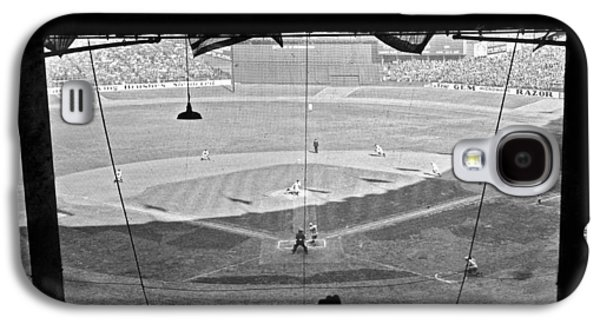 Yankee Stadium Grandstand View Galaxy S4 Case by Underwood Archives