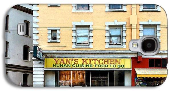 Architecture Galaxy S4 Case - Yan's Kitchen by Julie Gebhardt