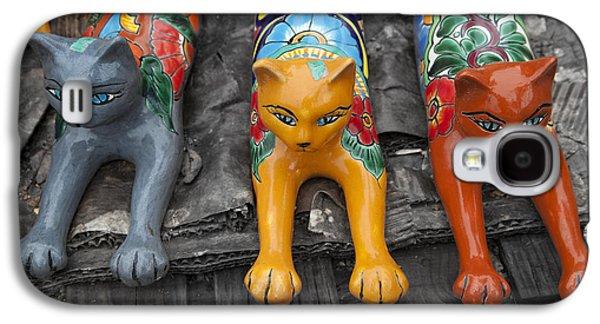 Yard Kitties Galaxy S4 Case by Greg Kopriva