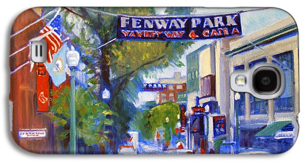Yawkey Way Galaxy S4 Case by Candace Lovely