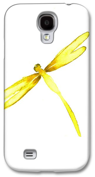 Yellow Dragonfly Galaxy S4 Case