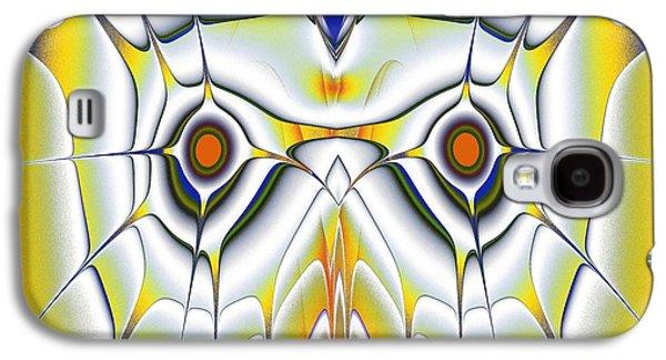 Yellow Owl Galaxy S4 Case by Anastasiya Malakhova