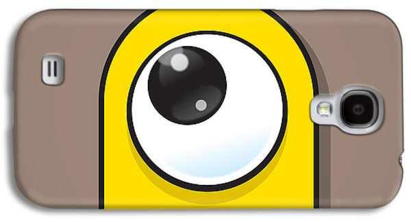 Yellow Galaxy S4 Case by Samuel Whitton