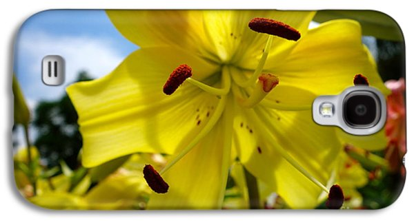 Yellow Whopper Lily 2 Galaxy S4 Case