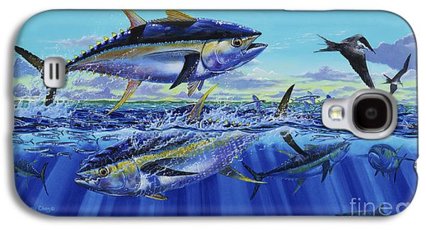 Yellowfin Bust Off0083 Galaxy S4 Case