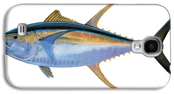 Yellowfin Tuna Galaxy S4 Case by Carey Chen