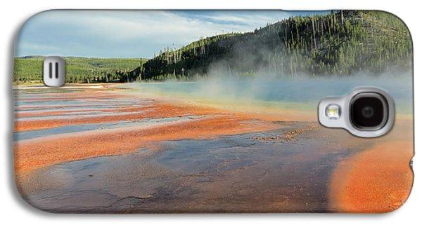 Yellowstone Geyser Galaxy S4 Case