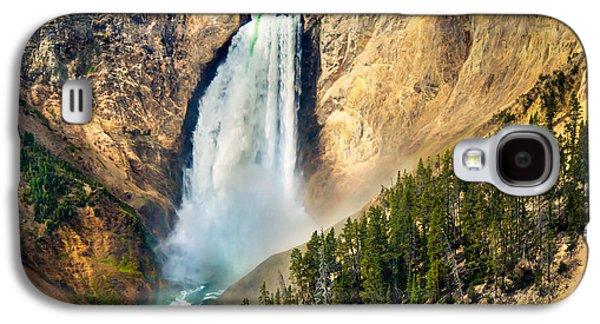 Yellowstone Lower Waterfalls Galaxy S4 Case by Robert Bales