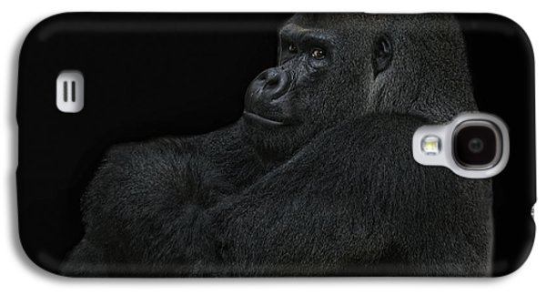 Gorilla Galaxy S4 Case - yes I m the great pretender by Joachim G Pinkawa