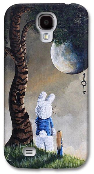 Alice In Wonderland Artwork - Fairytale Paintings Galaxy S4 Case