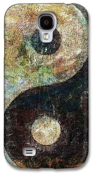Yin And Yang Galaxy S4 Case by Michael Creese