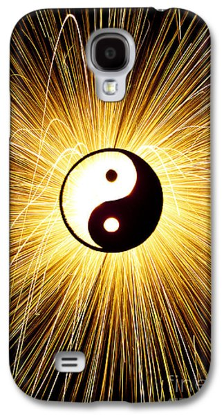 Yin Yang Light Galaxy S4 Case by Tim Gainey