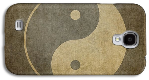 Yin Yang Vintage Galaxy S4 Case by Jane Rix