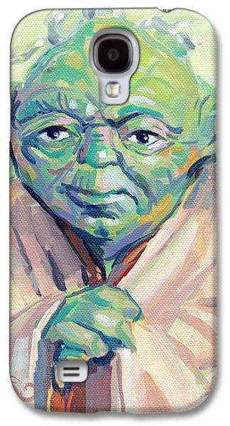 Yoda Galaxy S4 Case by Kimberly Santini
