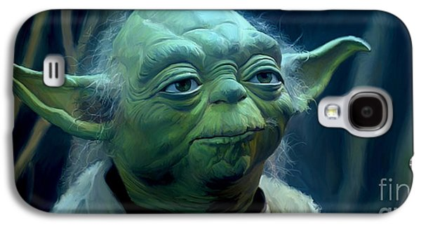 Yoda Galaxy S4 Case by Paul Tagliamonte
