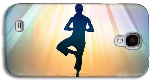 Yoga Balance Galaxy S4 Case