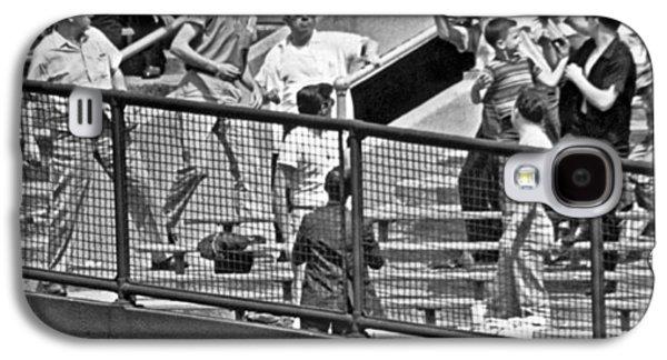 Yogi Berra Home Run Galaxy S4 Case by Underwood Archives