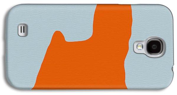 Yorkshire Terrier Orange Galaxy S4 Case by Naxart Studio