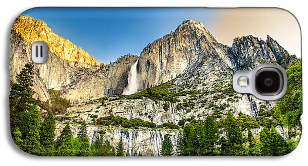 Yosemite National Park Galaxy S4 Case - Yosemite Falls  by Az Jackson