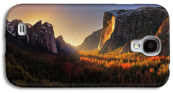 Yosemite Firefall Galaxy S4 Case