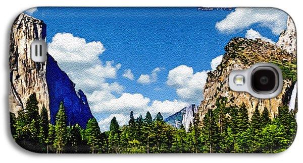 Yosemite Gods Country Galaxy S4 Case by Bob and Nadine Johnston