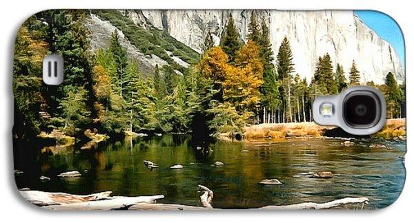 Half Dome Yosemite National Park Galaxy S4 Case by Barbara Snyder