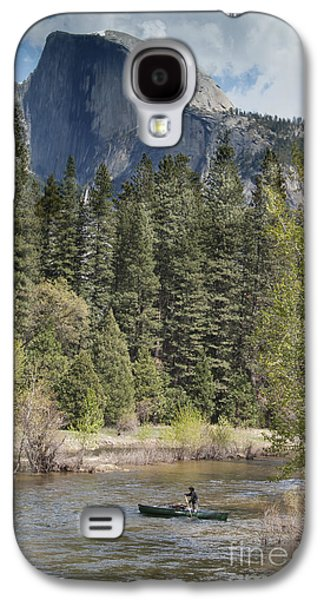 Yosemite National Park. Half Dome Galaxy S4 Case by Juli Scalzi