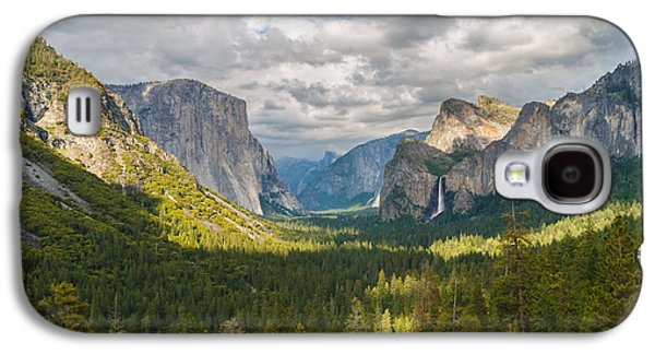 Yosemite Valley Galaxy S4 Case by Sarit Sotangkur