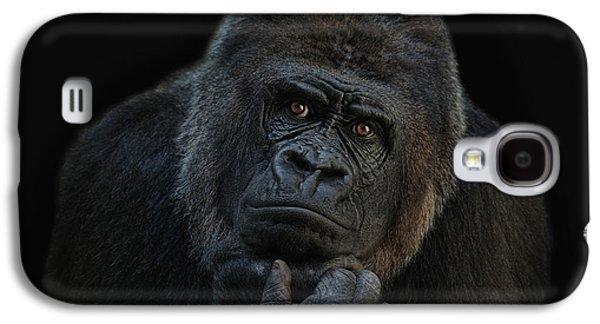 Gorilla Galaxy S4 Case - You Ain T Seen Nothing Yet by Joachim G Pinkawa