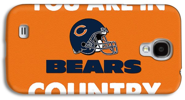 You Are In Bears Country Galaxy S4 Case by Celestial Images