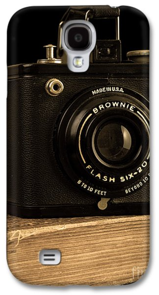 You Push The Button We Do The Rest Kodak Brownie Vintage Camera Galaxy S4 Case