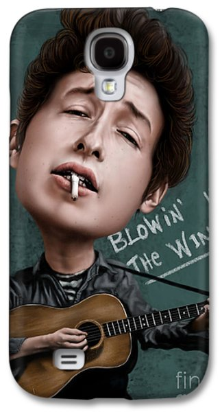 Young Bob Dylan Galaxy S4 Case by Andre Koekemoer