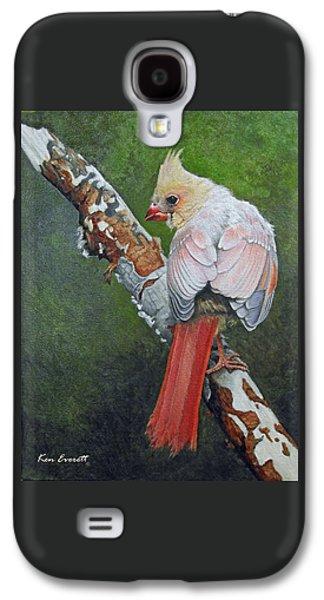 Young Cardinal  Galaxy S4 Case by Ken Everett