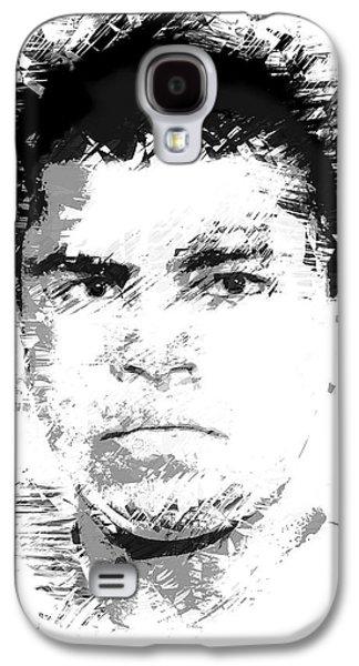 Young Cassius Clay Galaxy S4 Case by Daniel Hagerman