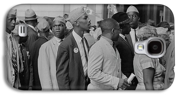 Young Men In Naacp Caps In Front Galaxy S4 Case by Stocktrek Images