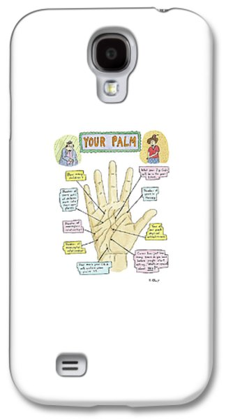 Your Palm Galaxy S4 Case