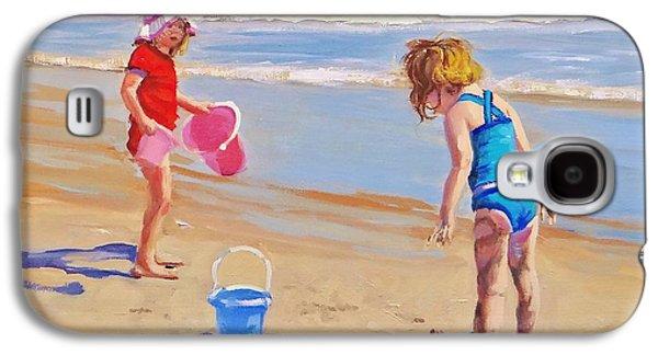 Beach Galaxy S4 Case - Yuck by Laura Lee Zanghetti