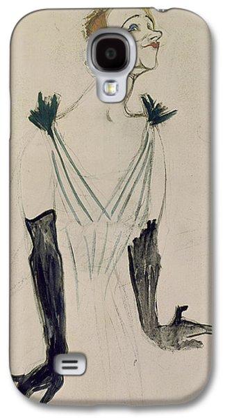 Yvette Guilbert  Galaxy S4 Case